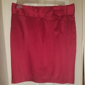 XXI Red Pencil Skirt Size Large